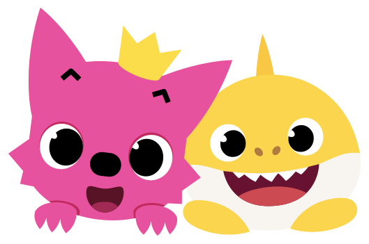 Pinkfong Baby Shark Tour on Circle Worksheets Free