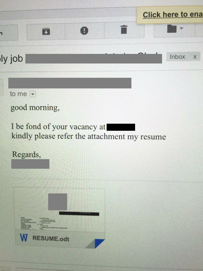 10 funniest malaysian resumes