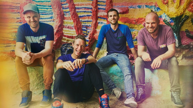 Coldplay is our MIX April Artist of the Month